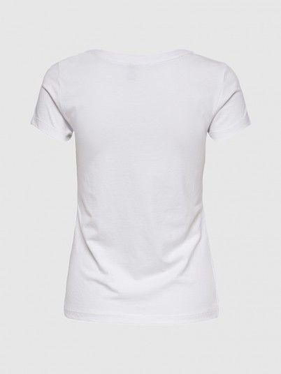 T-Shirt Woman Cream Only