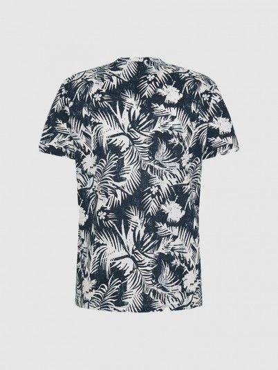 T-Shirt Man Navy Blue Jack & Jones