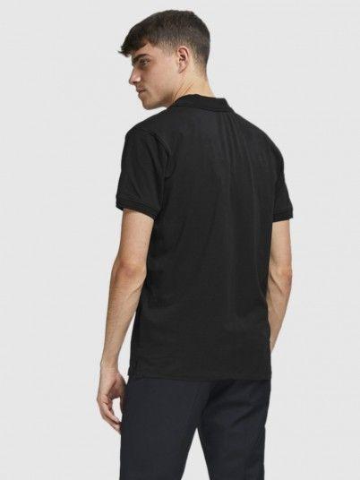 Polo Shirt Man Black Jack & Jones