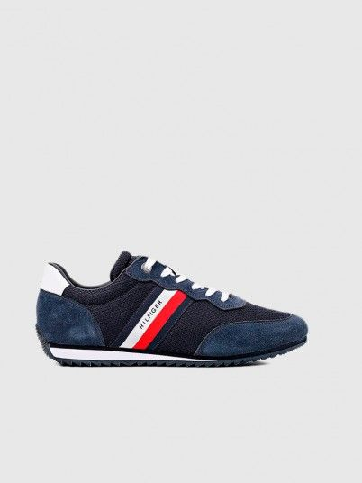 Sneakers Man Navy Blue Tommy Jeans