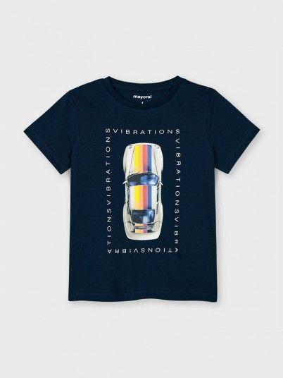 Camiseta Carro Menino Mayoral