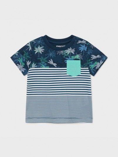 T-Shirt Bloques Bebé Menino Mayoral
