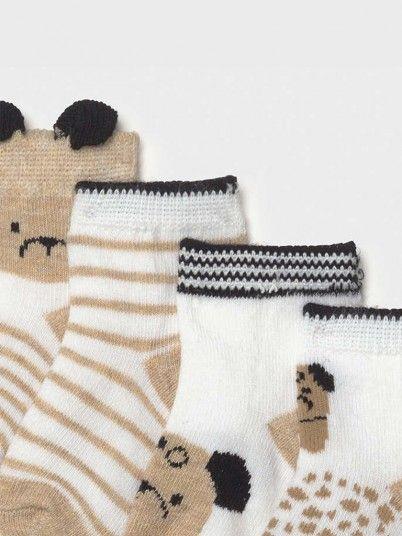 Socks Baby Girl Beige Mayoral