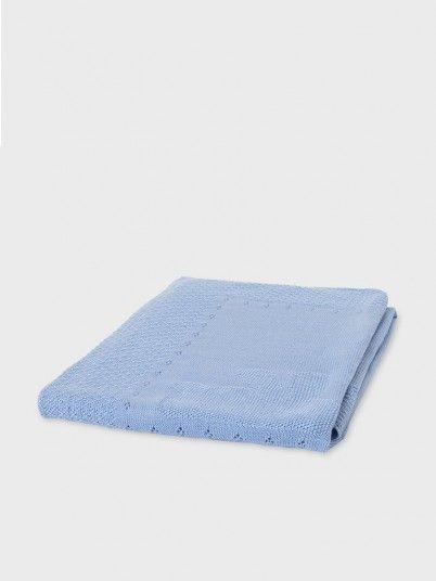 Blanket Baby Girl Blue Mayoral
