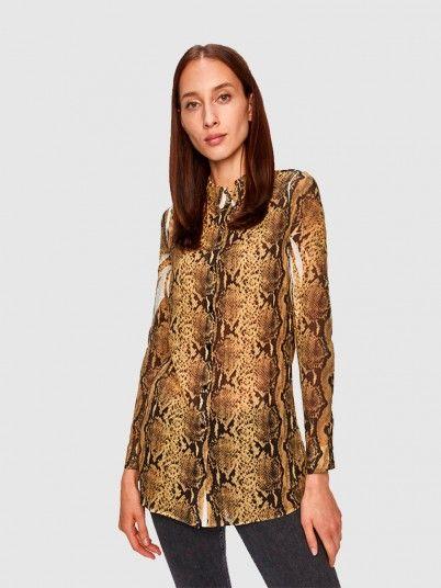 Shirt Woman Animal Print Guess