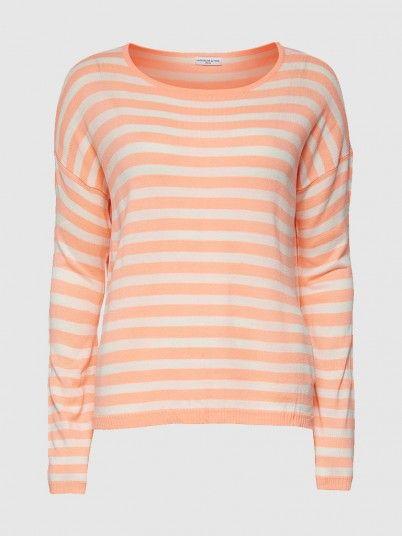 Wigston L/s Stripe Pullover Knt