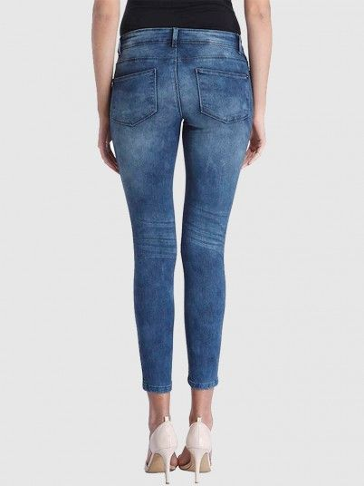 Skinny Low Ally Ancle Jeans Pim171O