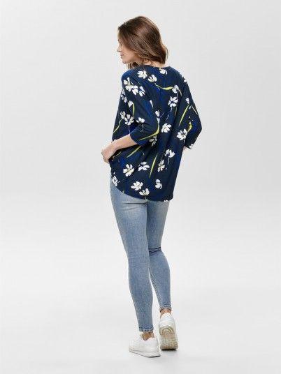Knitwear Woman Navy Blue Jacqueline de Yong