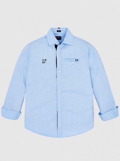 Shirt Boy Light Blue Mayoral