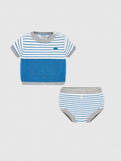 Set Baby Boy Blue Mayoral