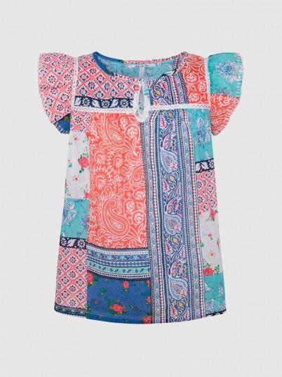 Shirt Girl Multicolor Pepe Jeans London