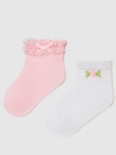 Socks Baby Girl Rose Mayoral