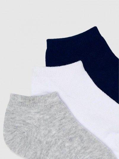 Socks Boy Grey Mayoral