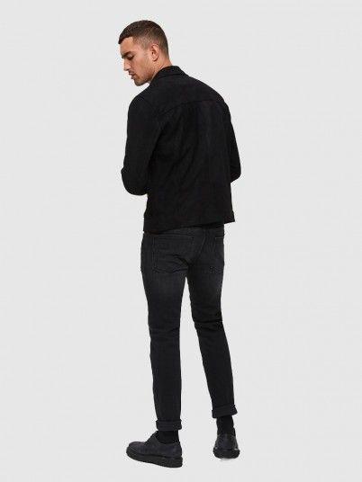 Calça Homem Slim-Leon Selected