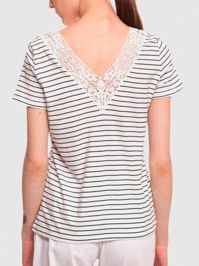 T-Shirt Mulher Hela Vero Moda