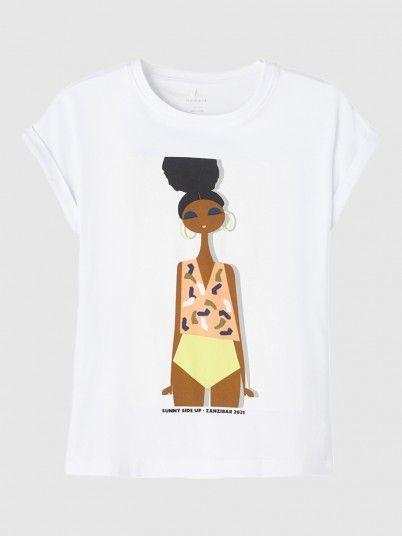 T-Shirt Menina Jacka Capsl Box Name It