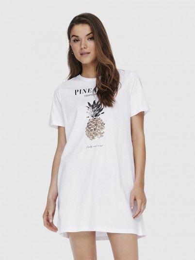 Dress Woman White Only