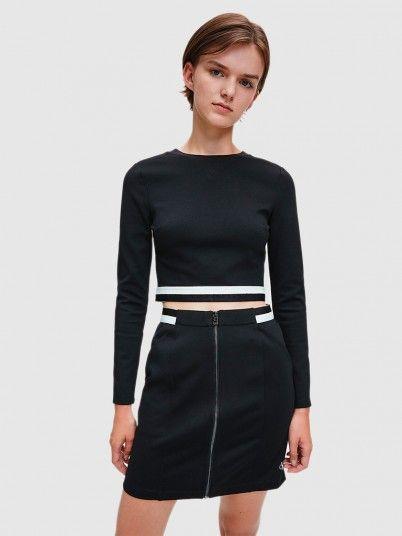 Sweatshirt Mulher Monochrome Calvin Klein