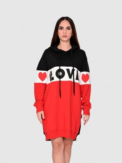 Vestido Mulher Love Moschino