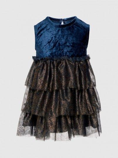 Dress Girl Dark Blue Name It