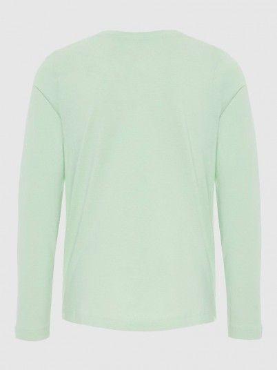 Sweatshirt Girl Light Green Name It