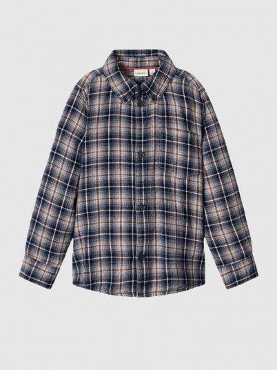 Shirt Boy Navy Blue Name It