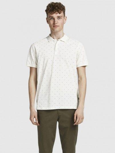 Polo Shirt Man Cream Jack & Jones