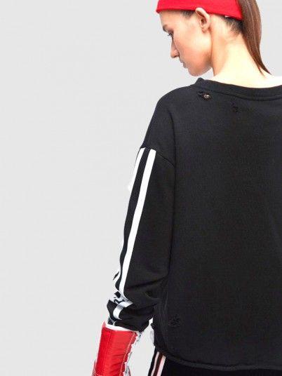 Sweatshirt Woman Black Miss Sixty