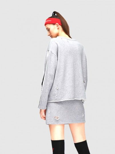 Sweatshirt Woman Grey Miss Sixty