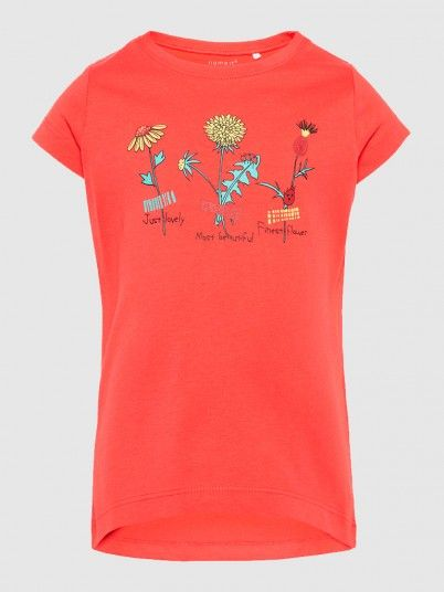 T-Shirt Menina Veen Name It