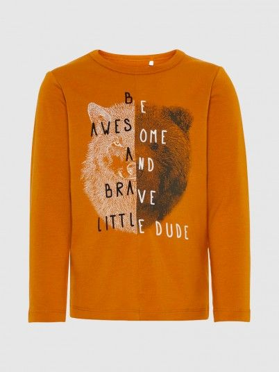 Sweatshirt Boy Brown Name It