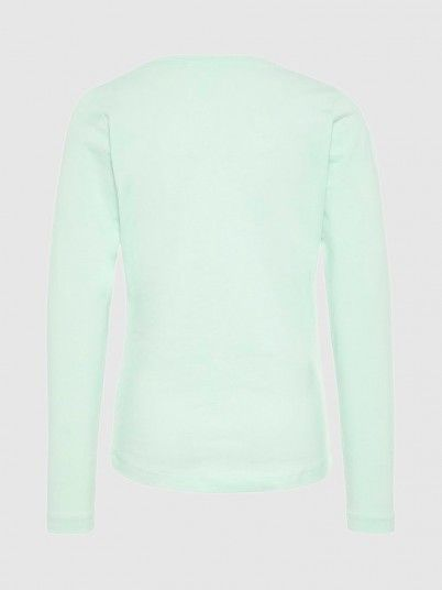 Sweatshirt Girl Green Water Name It