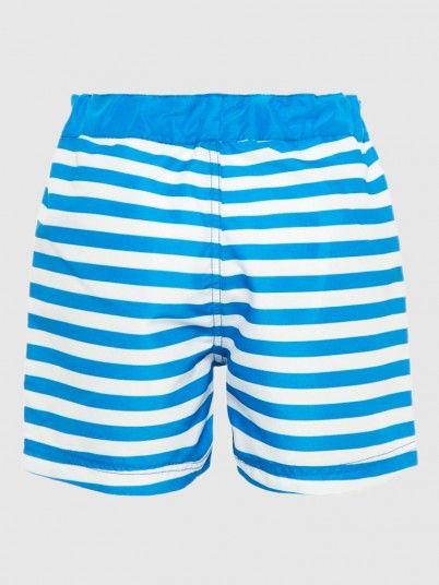 Shorts Boy Blue Stripe Name It