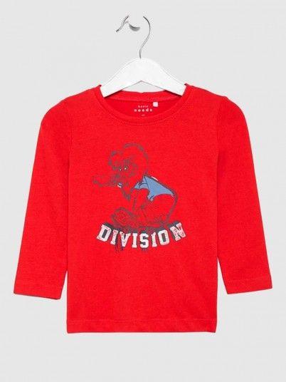 Sweatshirt Boy Red Name It