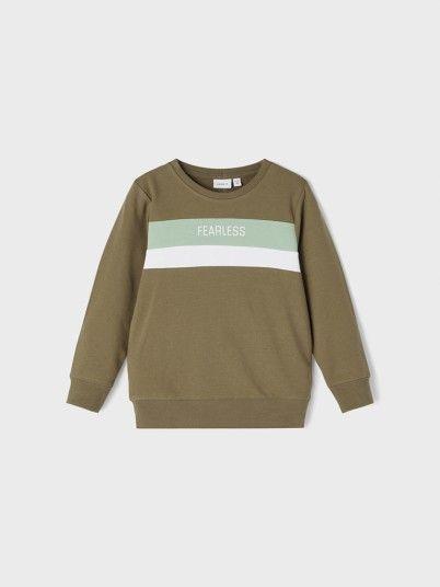 Sweatshirt Menino Kinslee Name It