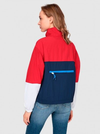 Sweat Impermeavel Mulher Quilted Tommy Jeans