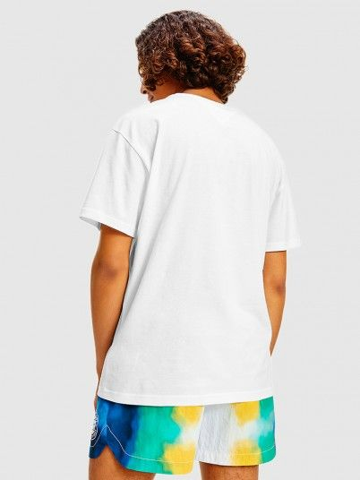 T-Shirt Homem Multicolor Tommy Jeans
