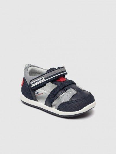 Sandálias Primeiros Passos Bebé Menino Mayoral