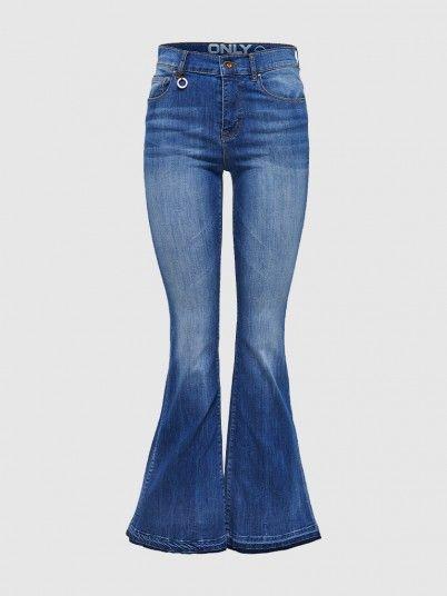 Rio Raw High Retro Flared Dnm Jeans