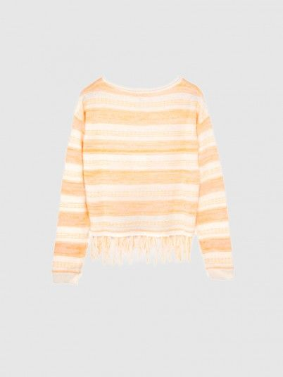 Calista L/s Cropped Pullover
