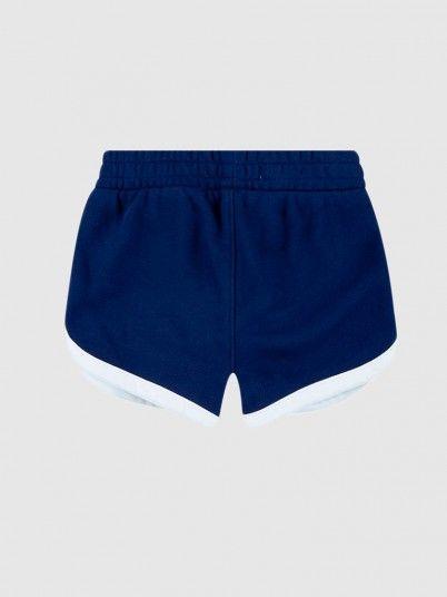 Shorts Girl Navy Blue Levis