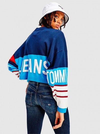 Jacket Woman Navy Blue Tommy Jeans
