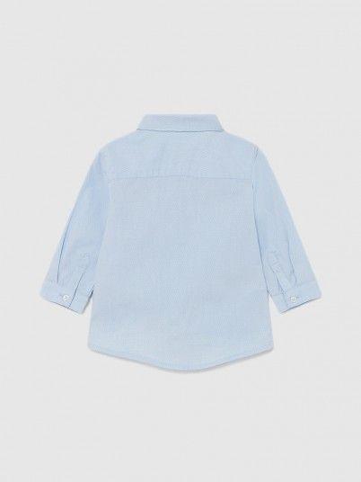 Camisa Manga Comprida Clássica Laço Bebé Menino Mayoral