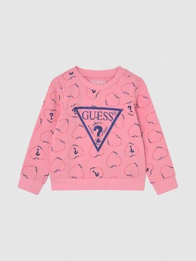 Sweatshirt Menina Active Guess
