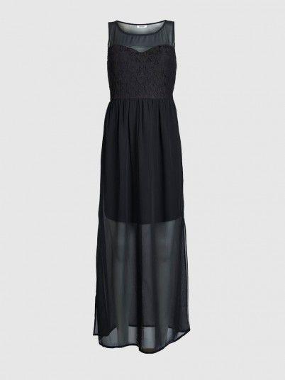 Onlbeline S/l Long Dress Wvn