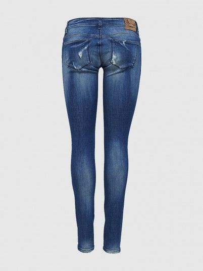 Carrie Low Sk Dnm Jeans Cre