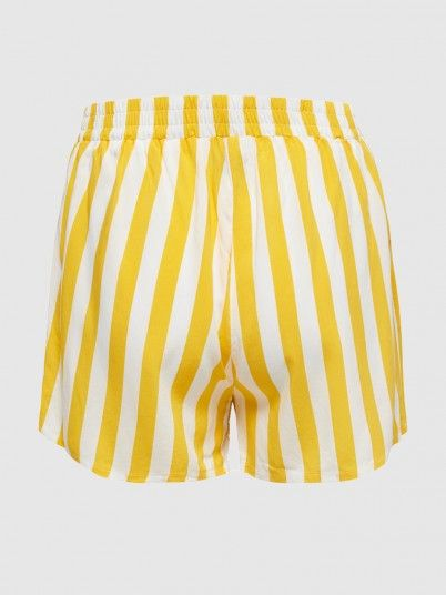 Shorts Woman Yellow Only