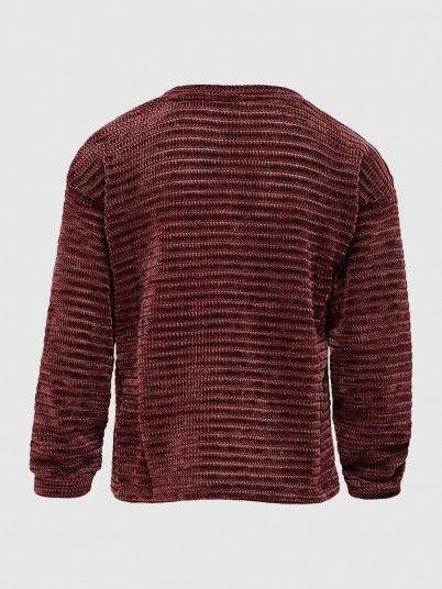 Knitwear Girl Bordeaux Only