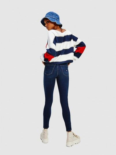 Jeans Mulher Nora Skny Tommy Jeans