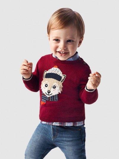 Knitwear Baby Boy Bordeaux Mayoral